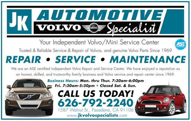 J.K. Volvo Specialists | Our Towns Finest
