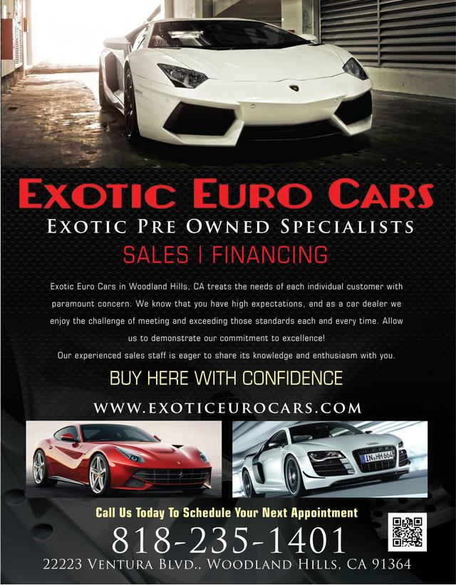 Exotic Euro Cars >> Exotic Euro Cars Our Towns Finest