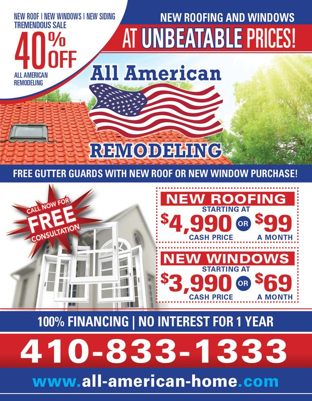 All american remodeling our towns finest for American remodeling