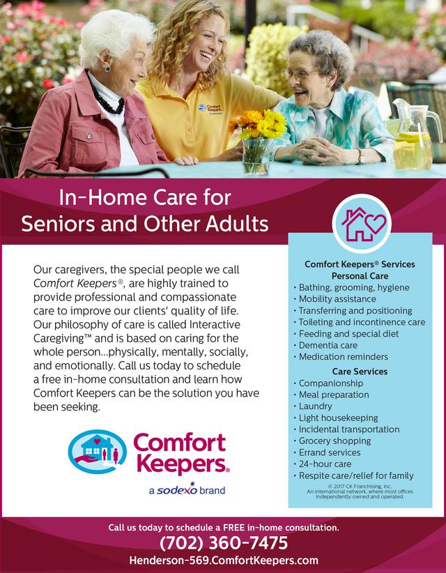 Comfort Keepers | Our Towns Finest